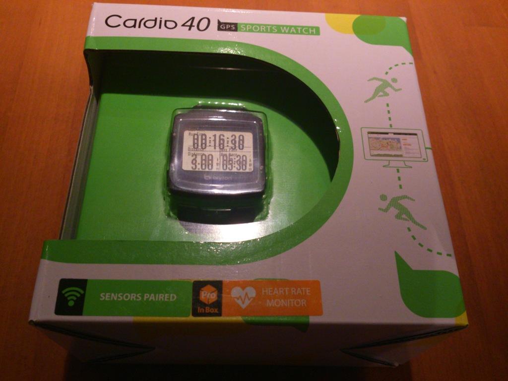 Bryton Cardio 40 GPS Sports Watch
