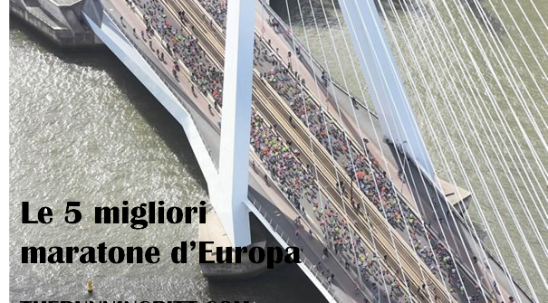 Le maratone più veloci in Europa