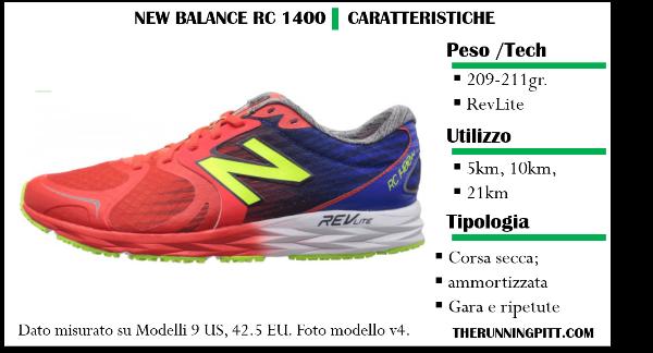 scarpe new balance caratteristiche