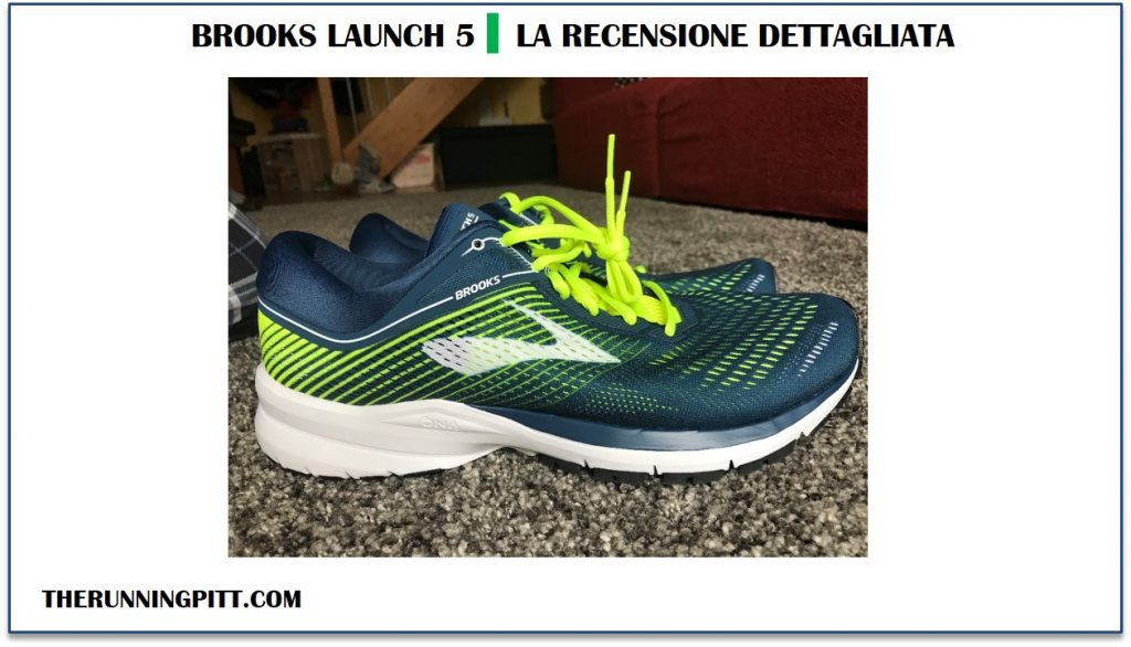 Brooks Launch 5: foto laterale