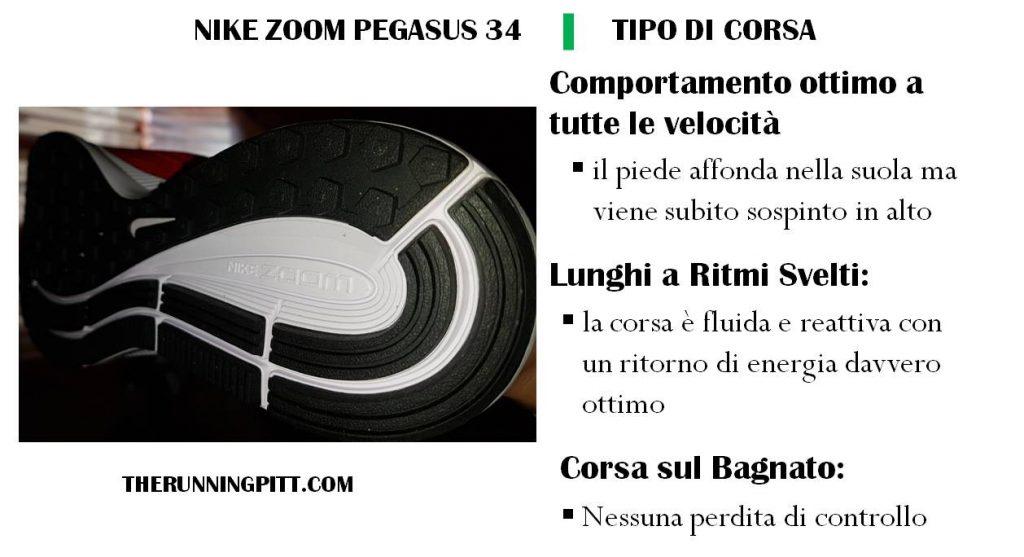 Comportamento Corsa Pegasus 34