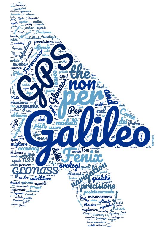 Freccia Galileo GPS