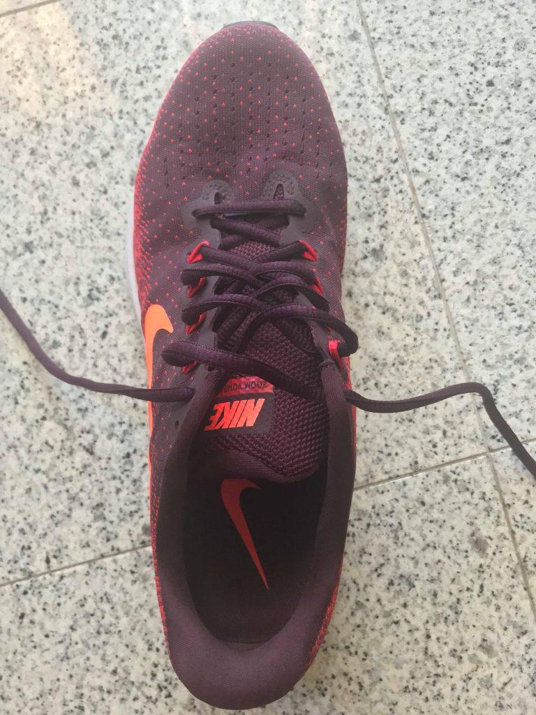 Frontale Nike Zoom Vomero 13