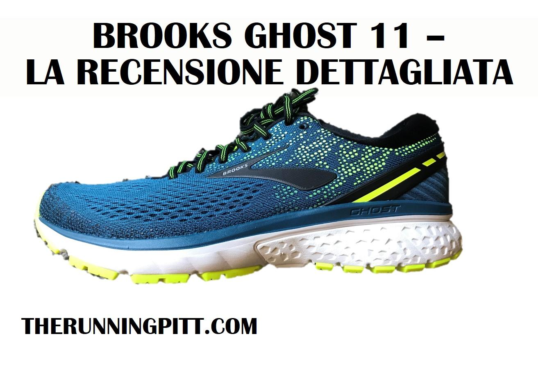 Brooks Ghost 11  la recensione dettagliata. Scritto da Massimiliano Doria e  ... d73f700cfd3
