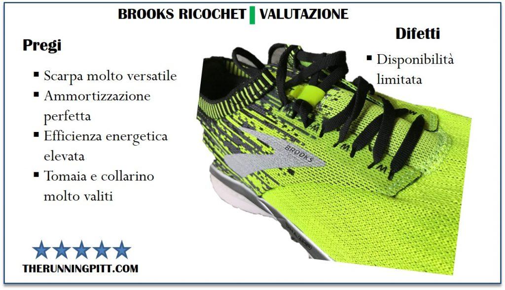 Brooks Ricochet: valutazione
