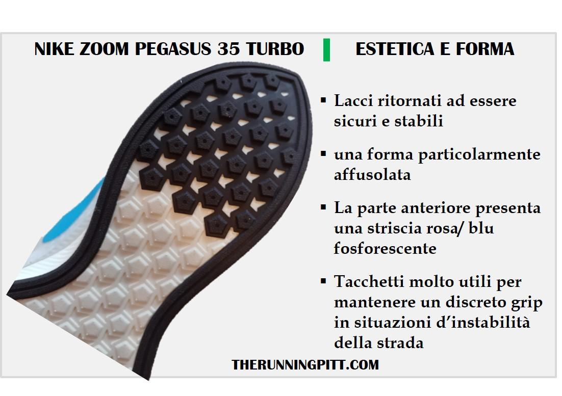 Nike Turbo: estetica
