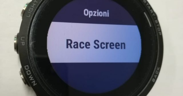 Race Screen