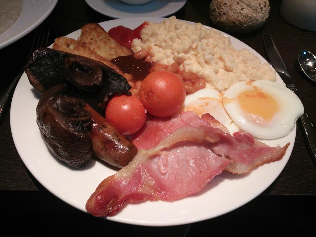 Parte della mia colazione il giorno dopo la London Marathon 2013...