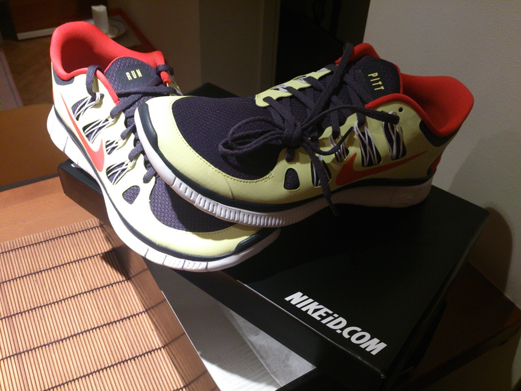 Nike Free 5.0 Pitt Edition