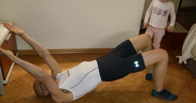 Shoulder Bridge... con l'intrusa!