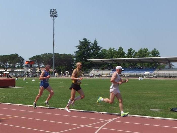 Campionato Regionale Individuale Master 5.000 metri in pista 2013