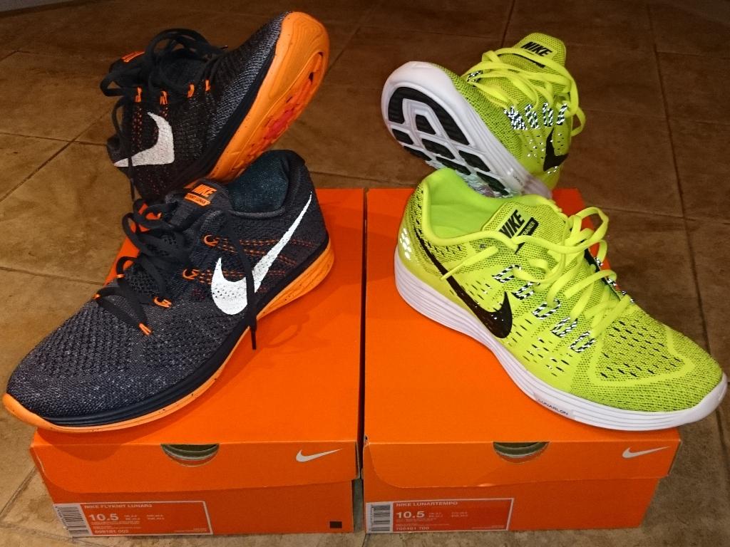 Nike Flyknit Lunar3 e Nike Lunartempo