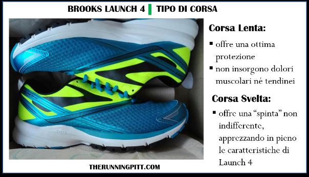 Brooks Launch 4, la recensione dettagliata
