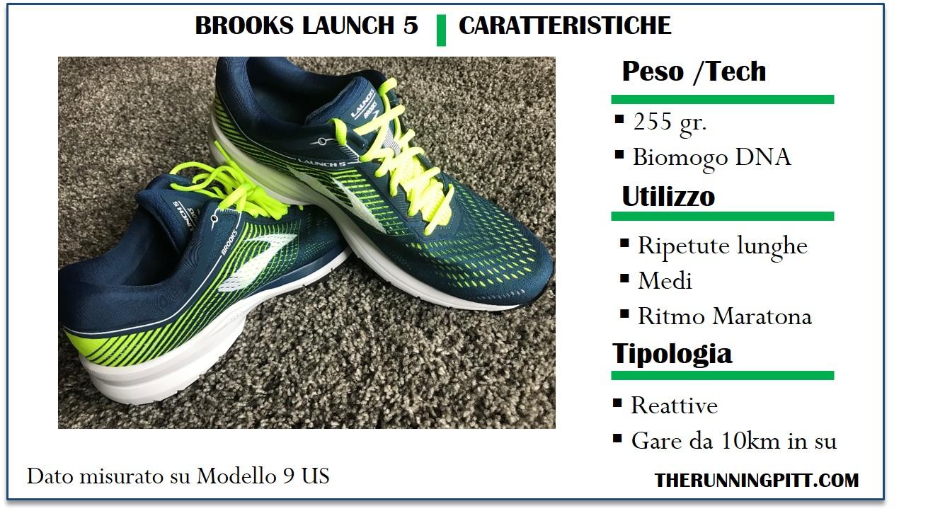 Brooks Launch 6: Recensione Dettagliata, Caratteristiche e
