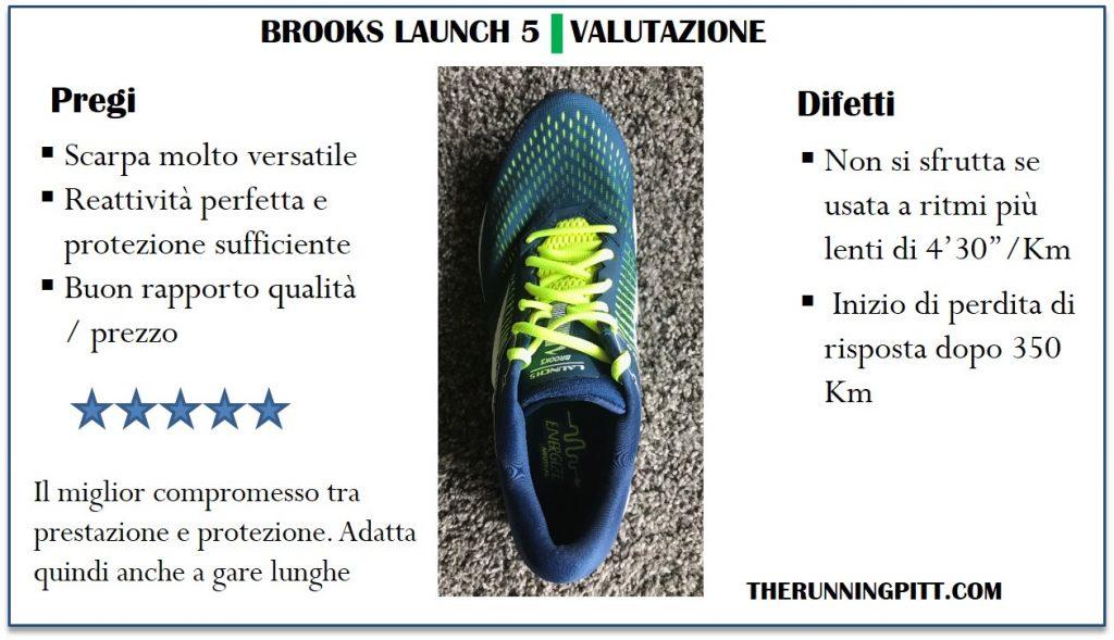 Sintesi Brooks Launch 5