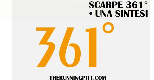 361 Scarpe Running