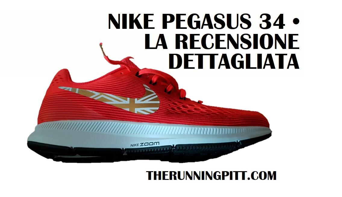 Nike Zoom Pegasus 34, la recensione dettagliata The  L28Jim