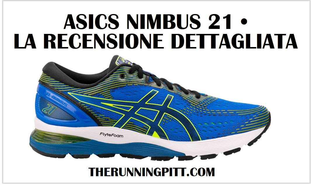 asics nimbus 21 uomo running