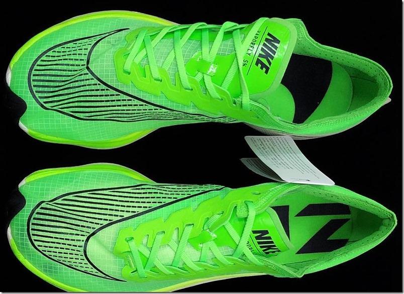 nike-vaporfly-5%-vista-superiore-verde