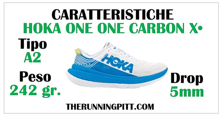 Hoka-one-one-carbon-X-caratteristiche